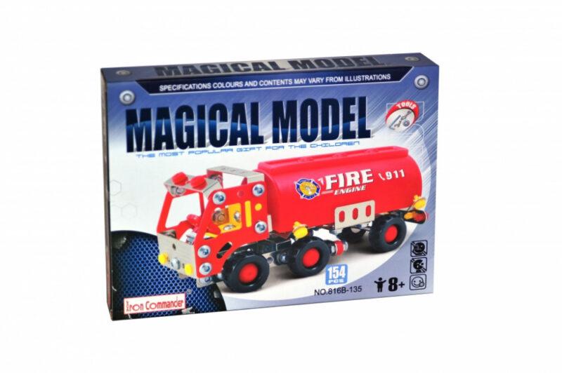 Μεταλλικό πυροσβεστικό όχημα