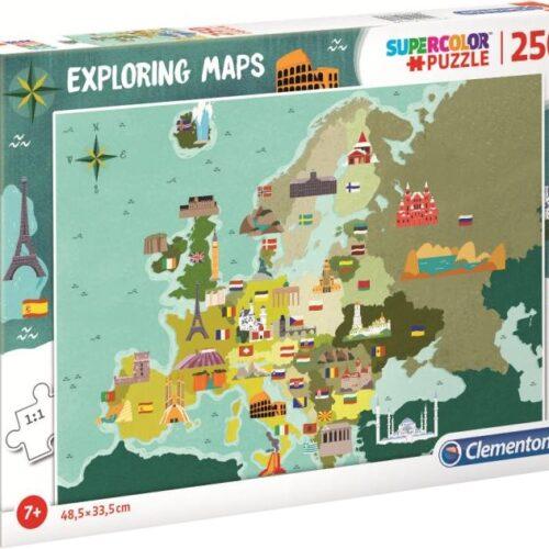Παζλ χάρτης ευρώπης