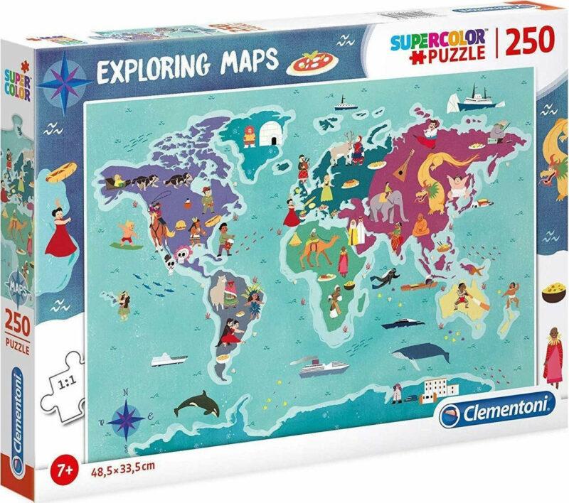 παζλ παγκόσμιος χάρτης